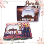 Caixa Mini Joystick de Chocolate – Freefire