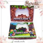Caixa Mini Joystick de Chocolate –  Minecraft
