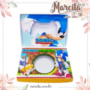 Caixa Mini Joystick de Chocolate –  Sonic