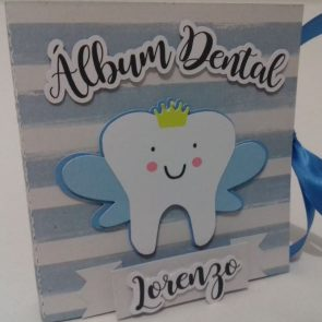 Álbum Dental Azul