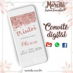 Convite Digital Trintei Gold Rose 03