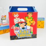 Maleta para Ovo inteiro 250gr e Copo Twister 300ml – Pokemon